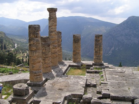 Delphi Apollontempel